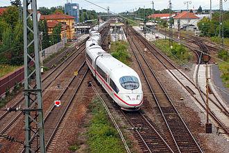 Bruhrain Railway - Station Graben - Neudorf