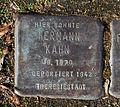 15-03-08 Stolpersteine Lindenthal Bachemer Strasse 95 Hermann Kahn.jpg