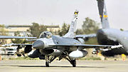 163d Expeditionary Fighter Squadron - General Dynamics F-16C Block 25E Fighting Falcon 84-1310