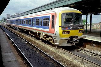 Ladbroke Grove rail crash - Image: 165119 at Didcot Parkway