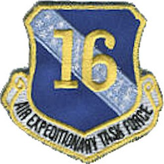 16th Air Expeditionary Task Force - Image: 16th Air Expeditionary Task Force Emblem