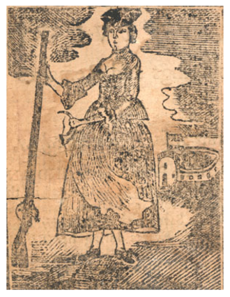 Mary Rowlandson - Mary Rowlandson from A Narrative of the Captivity, Sufferings and Removes of Mrs. Mary Rowlandson, Boston: Nathaniel Coverly, 1770