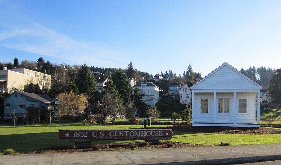 1852 US Custom House, Astoria, Oregon