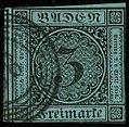 1858 3kr Baden rings Mi8.jpg