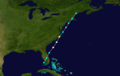 1861 Atlantic hurricane 8 track.png