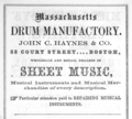 1863 drums advert Court Street Boston Massachusetts.png
