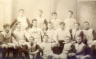 VMI Keydets football - The first VMI football team in 1891