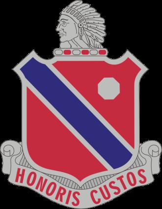 189th Field Artillery Regiment (United States) - Image: 189th FADUI