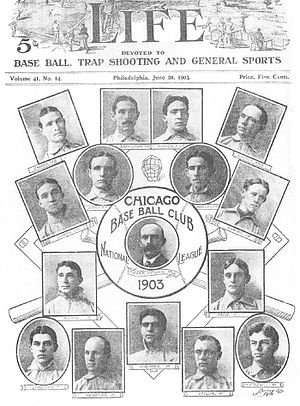 1903 Chicago Cubs season - The 1903 Chicago Cubs