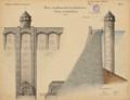 1906 Listertalsperre Schieberturm.png