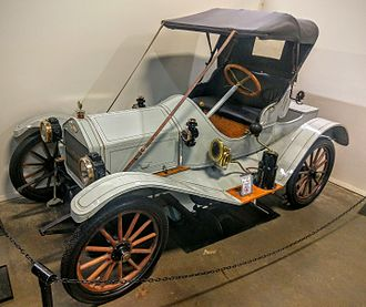 Metz Company - 1912 Model 22 Roadster, on display at the California Automobile Museum