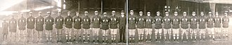 1913 World Series - The Athletics World Series team