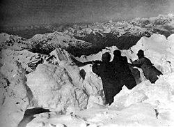 1917 ortler vorgipfelstellung 3850 m highest trench in history of first world war