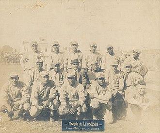 Almendares (baseball) - 1922–1923 Club Almendares