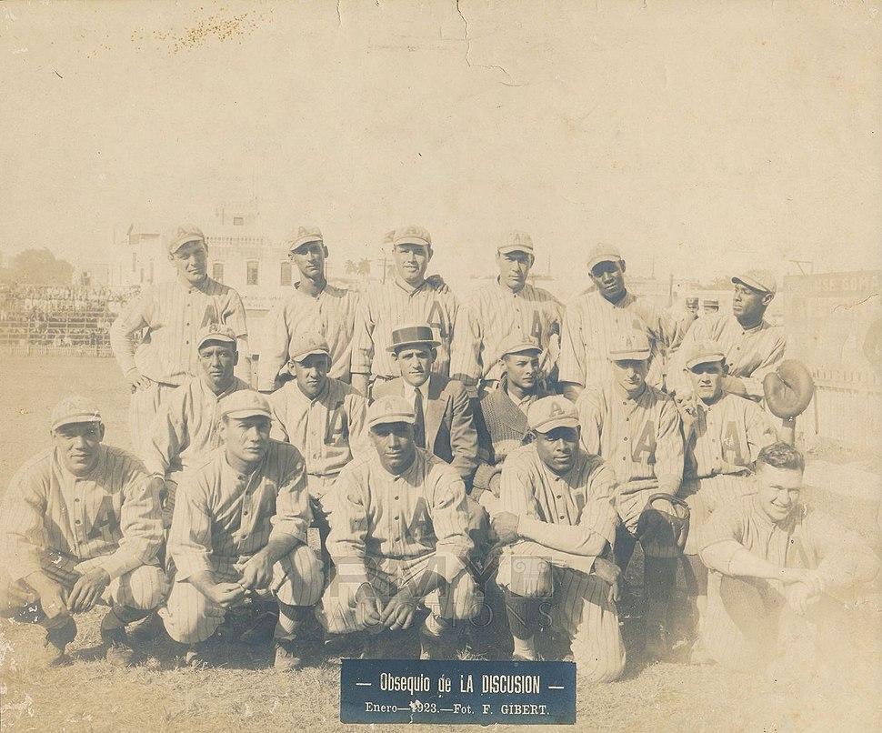 1922-23 Almendares Team