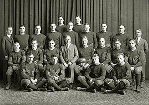 1922 Michigan Wolverines football team - Image: 1922 Michigan Wolverines football team