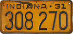 1931 Indiana license plate 01.JPG