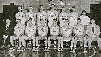 1948–49 Kentucky Wildcats men's basketball team - Image: 1949 Kentucky Wildcats