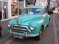 1950s Morris Oxford in Newton Abbot, 18 February 2013.jpg