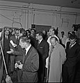 1957 Visite du ministre de l'agriculture Mr ANDRE DULIN au CNRZ-25-cliche Jean Joseph Weber.jpg