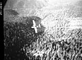 1958. PBY spraying DDT. Spruce budworm control project. Sumpter Valley, Oregon. (32363424703).jpg