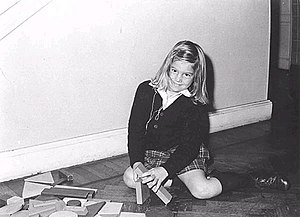 Queen Máxima of the Netherlands - Máxima aged six, 1977.