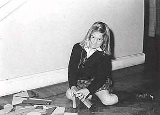 Queen Máxima of the Netherlands - Máxima aged six, 1977