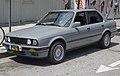 1991 BMW 318i four-door, front left (LA).jpg