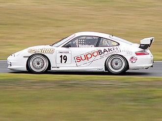 2006 Australian GT Championship - Theo Koundouris (Porsche 911 GT3 Cup Car Type 996) placed fourth