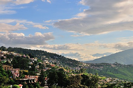 Almora city in Uttarakhand India 1 Almora Uttarakhand India.jpg