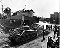1st Armored Division tanks land on the Anzio beachhead. 1944.jpg