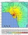 2001 Gujarat earthquake intensity.jpg
