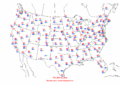 2002-09-20 Max-min Temperature Map NOAA.png