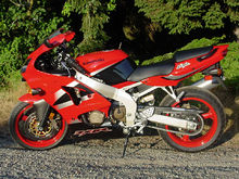 Kawasaki Zxr Red White