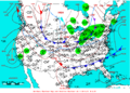 2005-02-22 Surface Weather Map NOAA.png