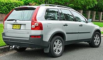 Volvo XC90 - Volvo XC90 pre-facelift (AU)
