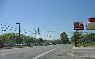 Maryland Route 355 - MD 355 at the Frederick/Montgomery county border.