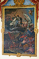 20070415 - Monasterio de Uclés - La Aparición del Apóstol Santiago en la Batalla de Clavijo, obra de Antonio González Ruiz, presidiendo la Escalera principal.jpg