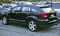 2007 Dodge Caliber RT in black, rear left.jpg