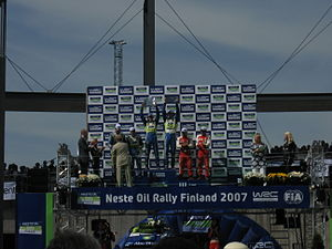 2007 Rally Finland podium 12.JPG