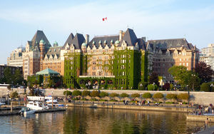 English: The The Fairmont Empress, Victoria, B...