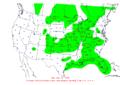 2009-08-18 24-hr Precipitation Map NOAA.png