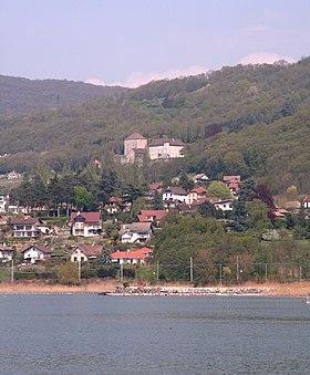 Photographié de la jetée du Grand Port d'Aix-les-Bains.
