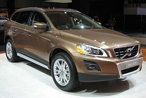 2009 Volvo XC60 photographed at the 2008 New Y...