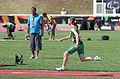 2013 IPC Athletics World Championships - 26072013 - Heather Jameson of Ireland during the Women's Long jump - T37-38.jpg