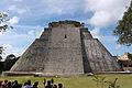 2014-01-02 Uxmal Pyramide des Zauberers Ostansicht anagoria.JPG