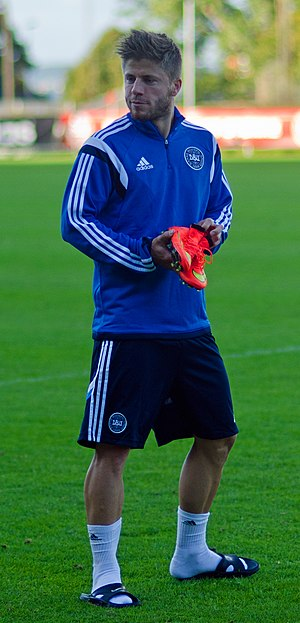 Lasse Schöne - Schöne training with Denmark in 2014