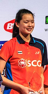 Puttita Supajirakul Badminton player