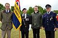 2015-06-20 200 Jahre Schlacht bei Waterloo, Welfenbund, The Royal British Legion, Hannover, Waterloosäule, (47).JPG