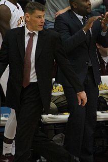 Porter Moser American basketball player-coach